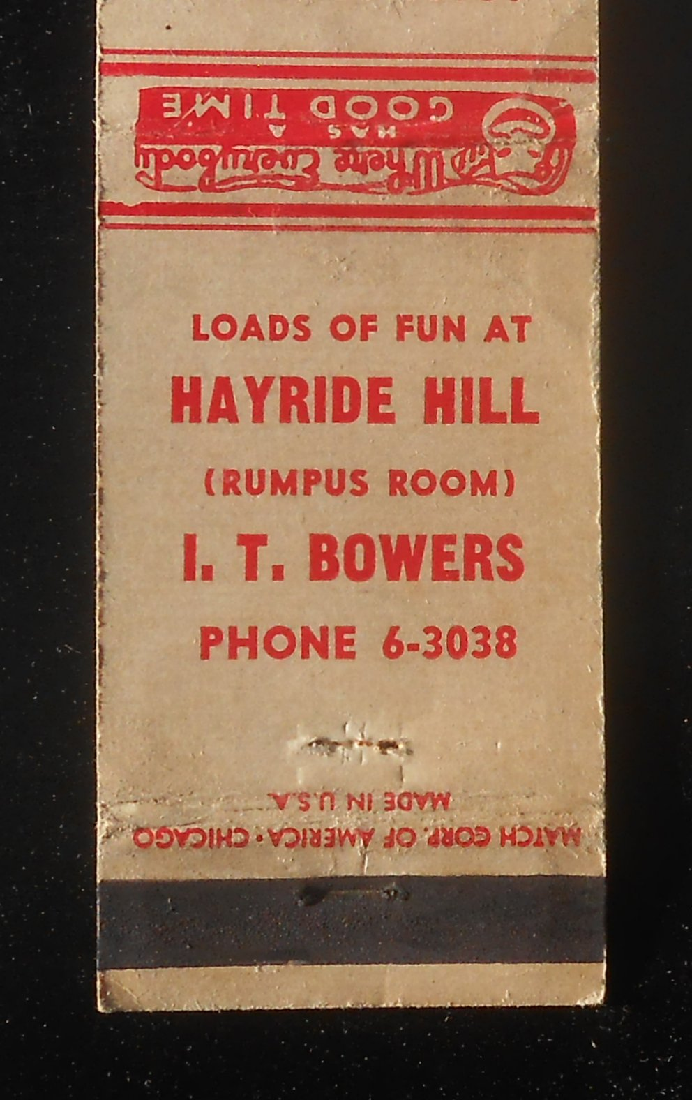 1940s Loads Of Fun At Hayride Hill Rumpus Room I T Bowers South Bend In Mb Ebay