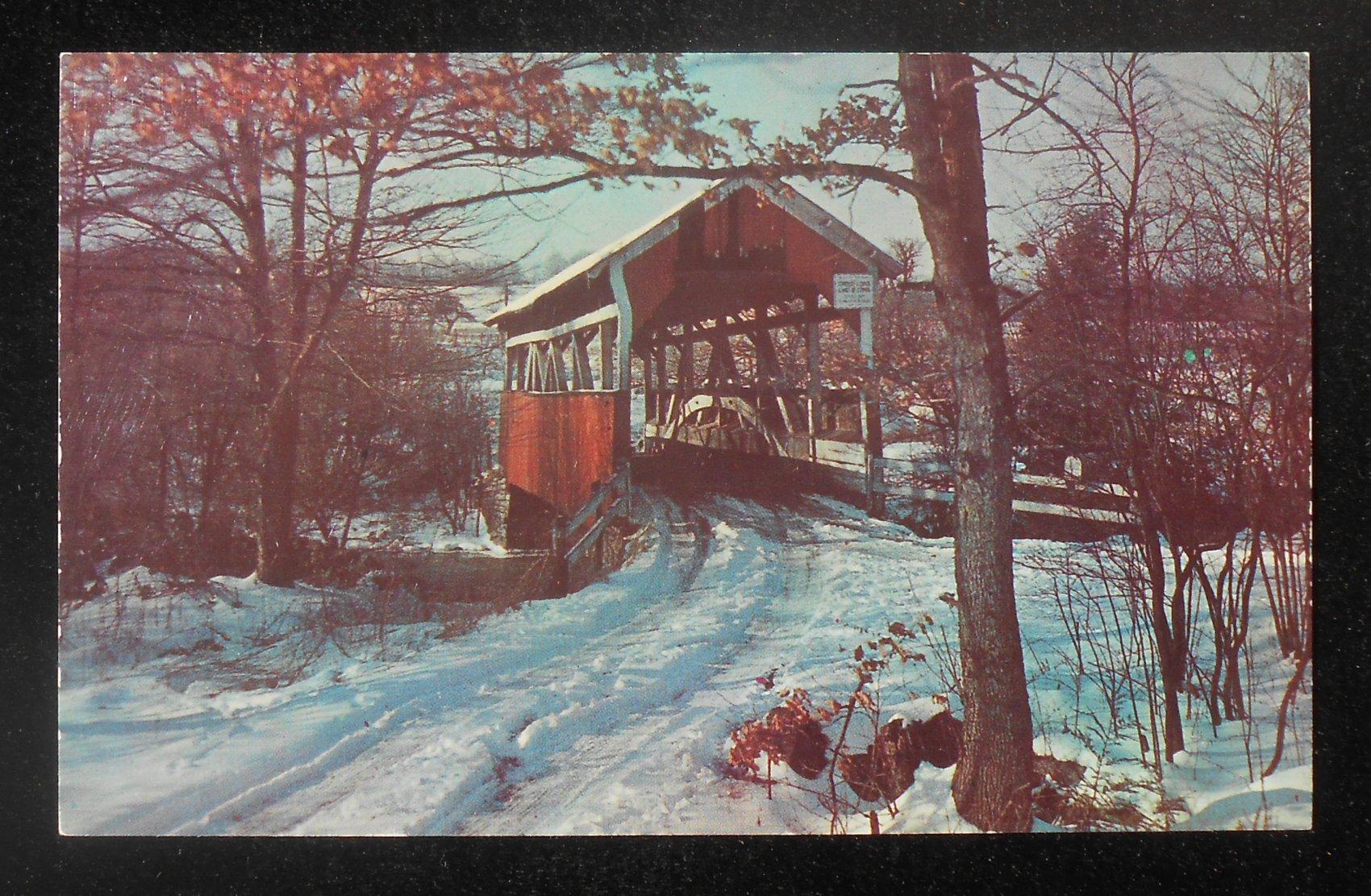 Set of 15 Covered Bridges Postcards